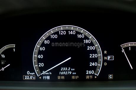 Car dashboardの写真素材 [FYI02213977]