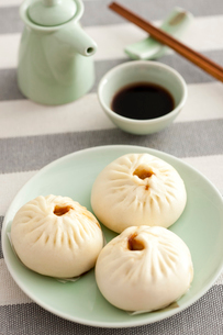 Chinese steamed bunの写真素材 [FYI02214007]