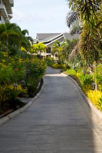 Holiday villas on Boracay island, Philippinesの写真素材 [FYI02214505]