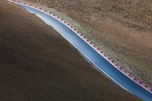 Road in Tibet, Chinaの写真素材 [FYI02214748]