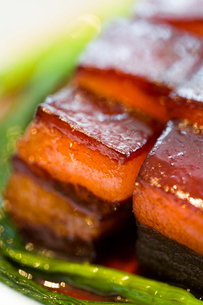 Chinese cuisine Dongpo meatの写真素材 [FYI02215855]