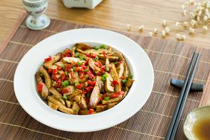 Chinese cuisine fried tofuの写真素材 [FYI02216387]