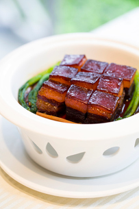 Chinese cuisine Dongpo meatの写真素材 [FYI02216486]