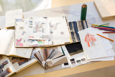 Clothing design studioの写真素材 [FYI02216666]