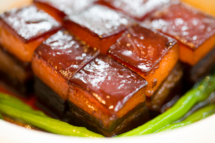 Chinese cuisine Dongpo meatの写真素材 [FYI02216805]