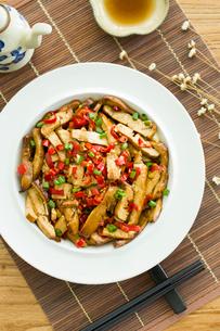 Chinese cuisine fried tofuの写真素材 [FYI02216981]
