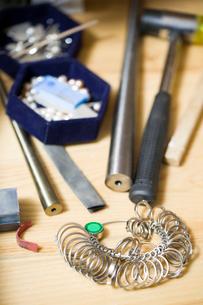 Jeweler's workbenchの写真素材 [FYI02217876]