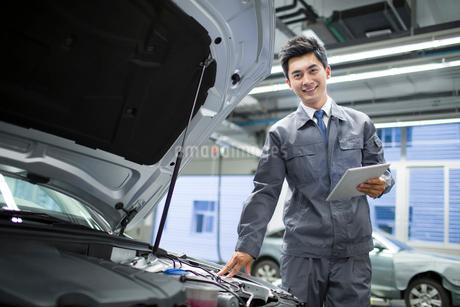 Auto mechanicの写真素材 [FYI02219672]