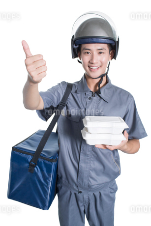 Take-out deliverymanの写真素材 [FYI02220869]