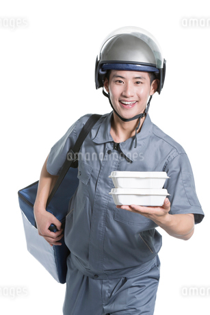 Take-out deliverymanの写真素材 [FYI02222991]