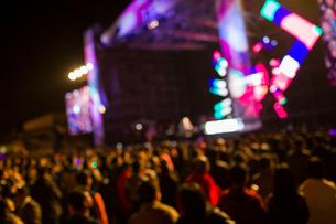 Music festivalの写真素材 [FYI02223195]