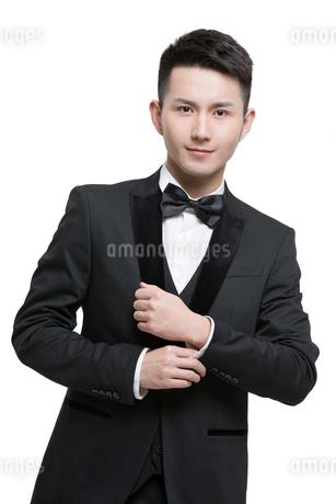 Portrait of young manの写真素材 [FYI02223808]