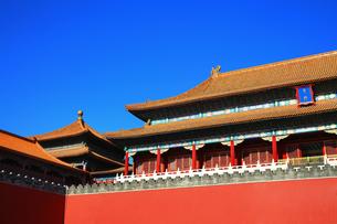 Forbidden city,Beijing,Chinaの写真素材 [FYI02224080]