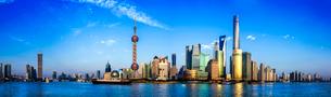 Shanghai cityscape,Chinaの写真素材 [FYI02224144]