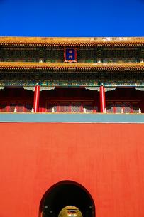 Forbidden city,Beijing,Chinaの写真素材 [FYI02224392]