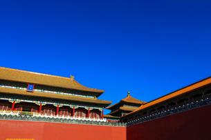 Forbidden city,Beijing,Chinaの写真素材 [FYI02224522]