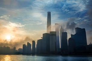 Shanghai cityscape,Chinaの写真素材 [FYI02224775]