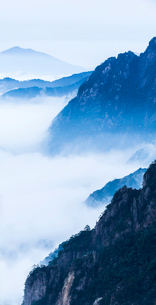 Mt Huangshan in Anhui province,Chinaの写真素材 [FYI02224833]
