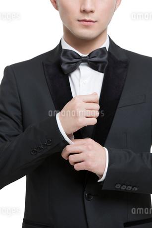 Man in fine suitの写真素材 [FYI02224901]
