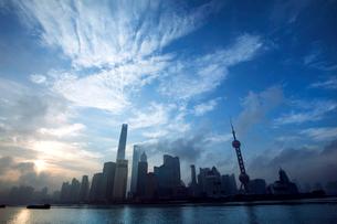 Shanghai cityscape,Chinaの写真素材 [FYI02224913]