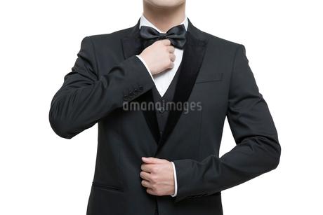 Man in fine suitの写真素材 [FYI02224987]