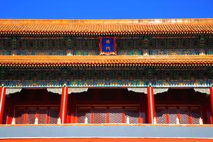 Forbidden city,Beijing,Chinaの写真素材 [FYI02225004]
