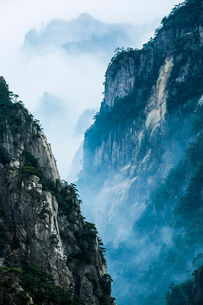 Mt Huangshan in Anhui province,Chinaの写真素材 [FYI02225055]