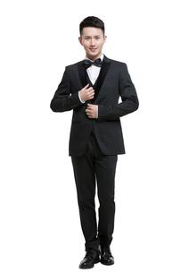Portrait of young manの写真素材 [FYI02225056]