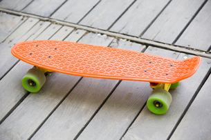A skateboardの写真素材 [FYI02225460]