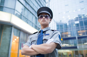 Security staffの写真素材 [FYI02225607]