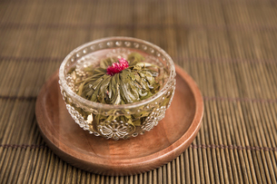Chinese traditional herbal teaの写真素材 [FYI02225661]