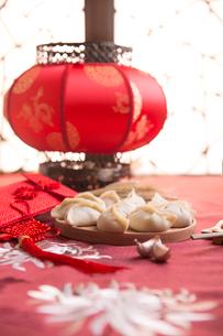 Chinese dumplingsの写真素材 [FYI02225765]
