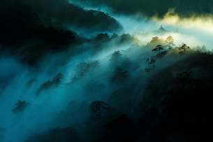 Mt Huangshan in Anhui province,Chinaの写真素材 [FYI02225784]