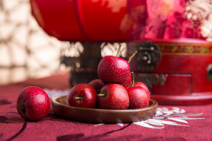 Chinese traditional items for Chinese New Yearの写真素材 [FYI02225876]