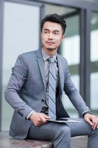 Confident businessmanの写真素材 [FYI02225934]