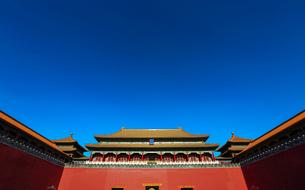 Forbidden city,Beijing,Chinaの写真素材 [FYI02226262]