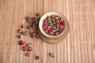 Chinese traditional herbal teaの写真素材 [FYI02226348]