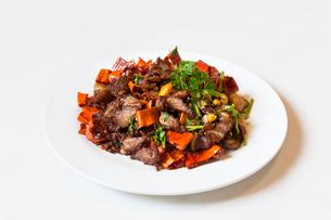 Delicious Chinese cuisineの写真素材 [FYI02227436]
