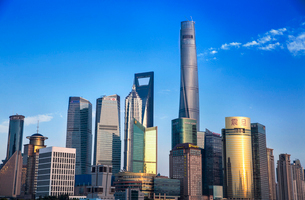 Shanghai cityscape,Chinaの写真素材 [FYI02227442]