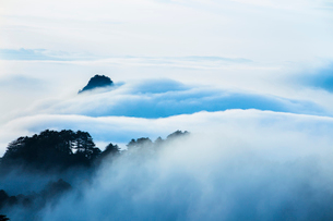Mt Huangshan in Anhui province,Chinaの写真素材 [FYI02227465]