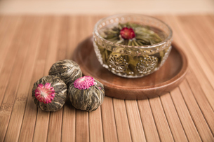 Chinese traditional herbal teaの写真素材 [FYI02227852]
