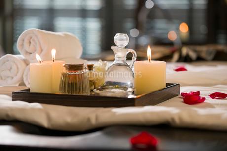 Massage suppliesの写真素材 [FYI02227936]