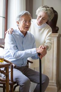 Happy senior coupleの写真素材 [FYI02228013]