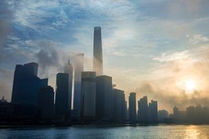 Shanghai cityscape,Chinaの写真素材 [FYI02228032]