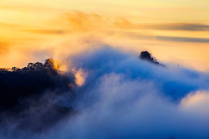 Mt Huangshan in Anhui province,Chinaの写真素材 [FYI02228233]