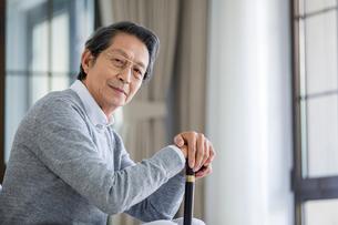 Portrait of senior manの写真素材 [FYI02228319]