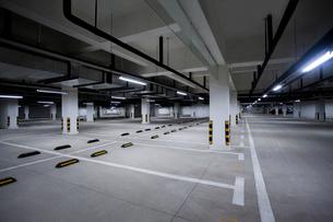 Parking lotの写真素材 [FYI02228633]