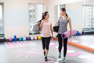 Postpartum fitnessの写真素材 [FYI02228773]