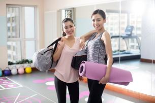 Postpartum fitnessの写真素材 [FYI02229435]