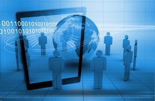Global business technologyの写真素材 [FYI02233160]